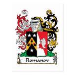 Romanov Family Crest Postcard
