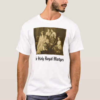 Romanov, The Holy Royal Martyrs  T-Shirt