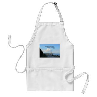 Romans 10:15 How beautiful are the feet... Standard Apron