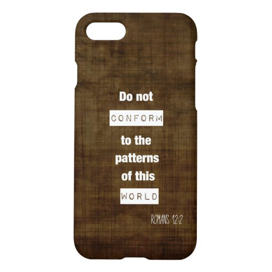 Romans 12:2 iPhone 7 Case