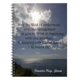 Romans 15:5 notebook