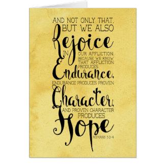 Romans 5:8 Watercolor Notecard