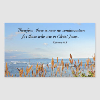 Romans 8:1 Therefore, there is now no condemnation Sticker