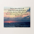 ROMANS 8:28 FAITH JIGSAW PUZZLE