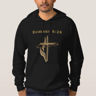 Romans 8:28 products hoodie