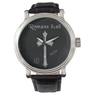 Romans 8:28 t-shirts wristwatches