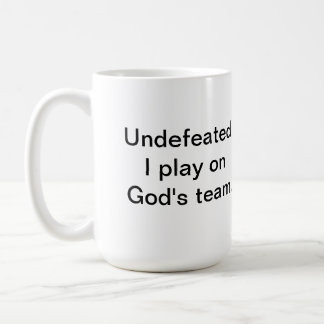 Romans 8:31 If God is for us Classic White Coffee Mug