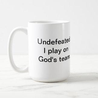 Romans 8:31 If God is for us Basic White Mug