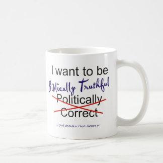 Romans 9:1 coffee mugs