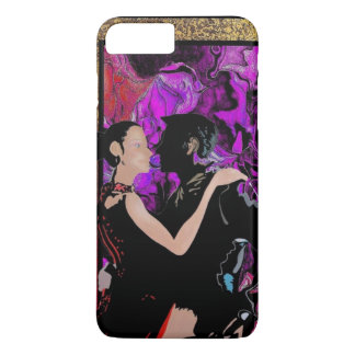 Romantic Art Deco style dancers iPhone 7 Plus Case