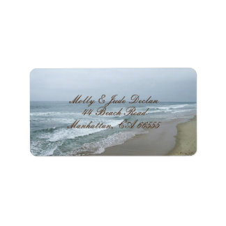 Romantic Beach Label