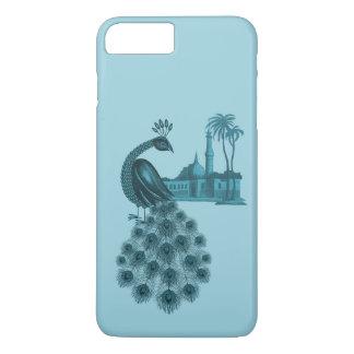 Romantic Blue Peacock iPhone 8 Plus/7 Plus Case