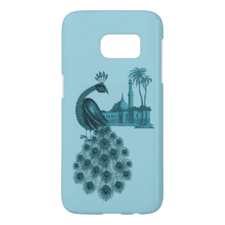 Romantic Blue Peacock Samsung Galaxy S7 Case