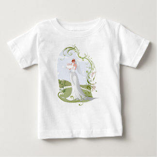 Romantic Bride in the Nature Baby T-Shirt