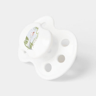 Romantic Bride in the Nature Pacifier