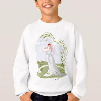 Romantic Bride in the Nature Sweatshirt