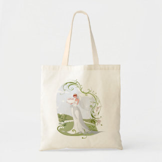 Romantic Bride in the Nature Tote Bag
