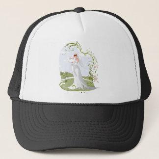 Romantic Bride in the Nature Trucker Hat