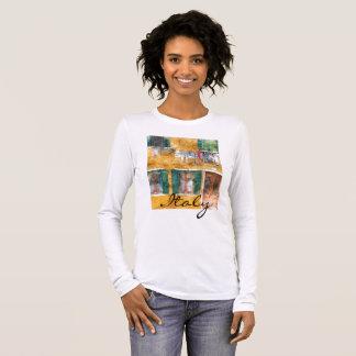 Romantic Burano Italy near Venice Italy Long Sleeve T-Shirt
