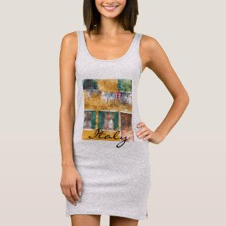 Romantic Burano Italy near Venice Italy Sleeveless Dress