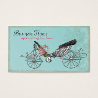 Romantic Carriage Business Card