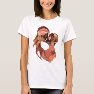 Romantic Casual Apparel (Two as One) T-Shirt