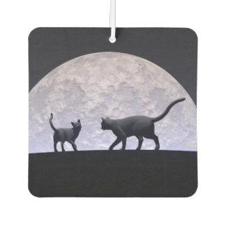 Romantic cats air freshener