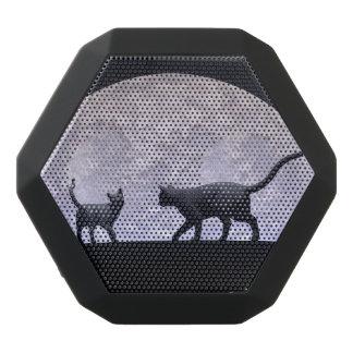 Romantic cats black bluetooth speaker