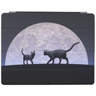 Romantic cats iPad cover