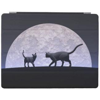 Romantic cats iPad smart cover