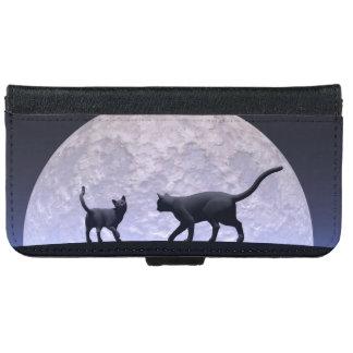 Romantic cats iPhone 6 wallet case