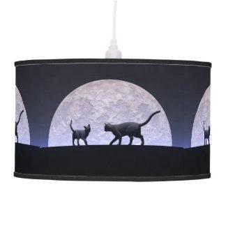 Romantic cats pendant lamp