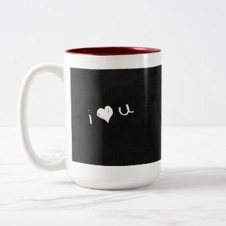 Romantic Chalkboard Mug