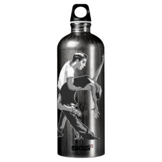 Romantic Couple Dancing Water Bottle