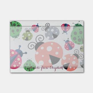 Romantic Cute Lovely  Stylish ,Ladybugs Post-it Notes
