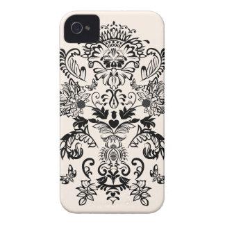 Romantic Damask Blackberry bold case