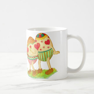 Romantic eggs mug