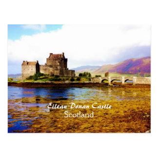 Romantic Eilean Donan Castle, Scotland Postcard