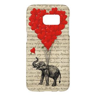 Romantic Elephant heart Samsung Galaxy S7 Case