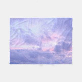 Romantic Evening Sky Fleece Blanket