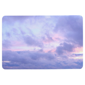Romantic Evening Sky Floor Mat