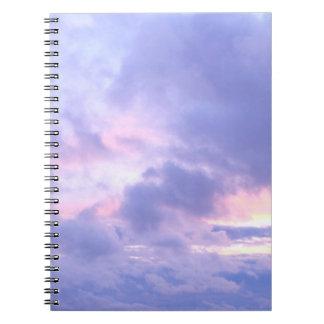 Romantic Evening Sky Notebook