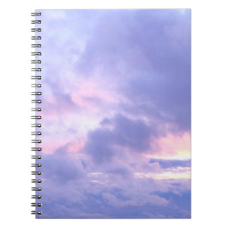 Romantic Evening Sky Notebooks