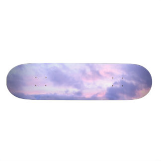 Romantic Evening Sky Skate Boards