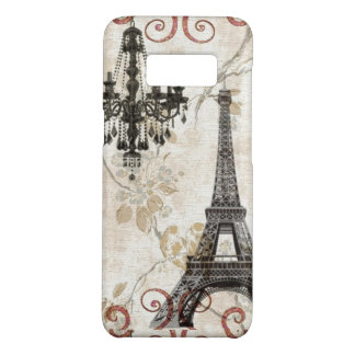 Romantic Fall Autumn Leaves Paris Eiffel Tower Case-Mate Samsung Galaxy S8 Case