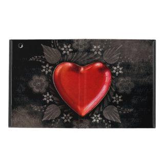 Romantic Floral Heart Valentine Love iPad Covers