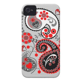 Romantic Floral Paisley retro iPhone 4 case