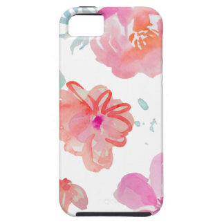 Romantic Floral Pink Watercolor Cool & Elegant for iPhone 5 Cover