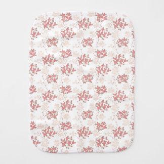 Romantic Flower Burp Cloth