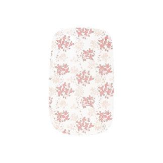 Romantic Flower Minx Nail Art